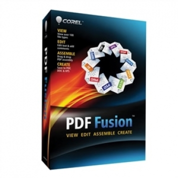 Corel PDF Fusion 1 License Media Pack