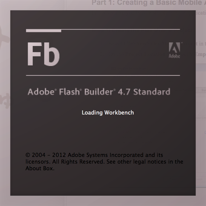 Adobe Flash Builder Prem 4.7