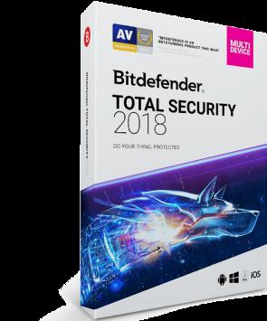 Bitdefendef Total Security 2018