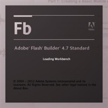 Adobe Flash Builder Prem 4.7