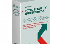 Kaspersky Total Security для бизнеса – Ваша тотальная защита!