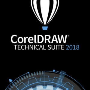 CorelDRAW Technical Suite 2018 Enterprise License (includes 1 Year CorelSure Maintenance)(251+)